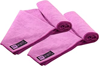 FIT SPIRIT Microfiber Bath Sport Towels, 2 Pack