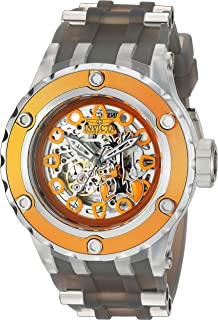 Invicta 26954 - Reloj automático para hombre (acero inoxidable y silicona), color gris