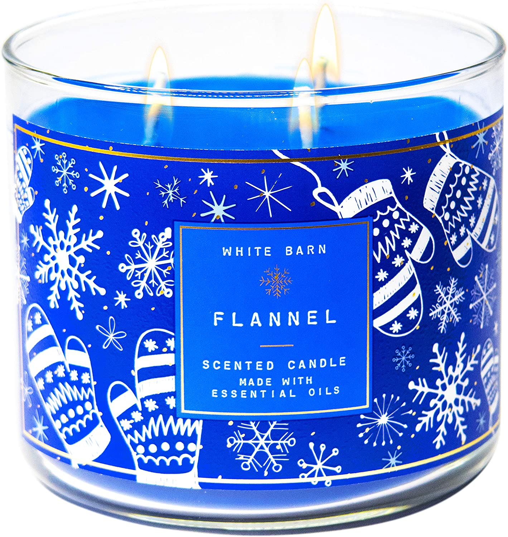 White Barn 交換無料 Bath and Body Works Essential 専門店 - Candle Oils 3-Wick w