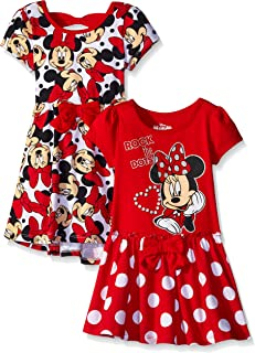 Disney Girls 2 Pack Minnie Mouse Dresses