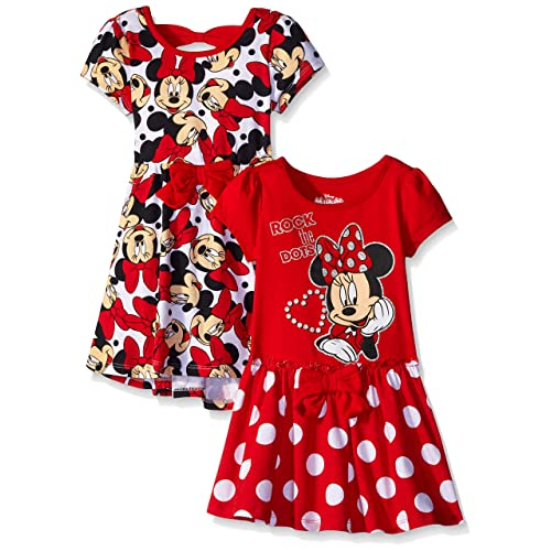 Disney Girls  2 Pack Minnie Mouse Dresses ca02f1248