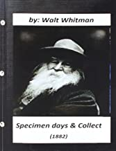 Best walt whitman specimen days Reviews