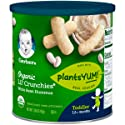 Gerber Organic Lil Crunchies White Bean Hummus Canister, 1.59oz
