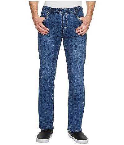 NBZ(r) Elastic Waist Straight Leg Jean in Imperial Blue (Imperial Blue) Men