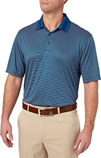 Men's Core Mini Stripe Golf Polo