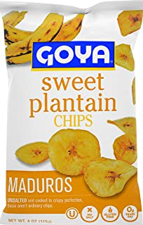 Goya Sweet Plantain Chips, 4 Ounce