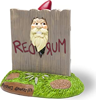 "BigMouth Inc. The ""Here's Gnomey"" Garden Gnome - The Shining Movie Themed Weatherproof Garden Decoration, Makes a Great Gag Gift - 9"" Tall"