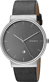Skagen Men`s SKW6320 Ancher Titanium Analog Quartz, Grey