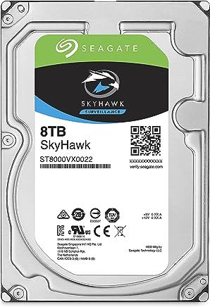Seagate SkyHawk 8TB Surveillance Hard Drive - SATA 6Gb/s 256MB Cache 3.5-Inch Internal Drive (ST8000VX0022)
