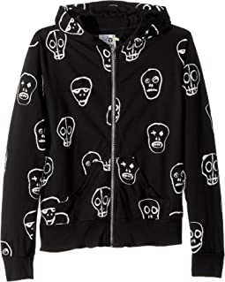 Nununu Skull Mask Hoodie (Little Kids/Big Kids)