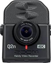Zoom Q2n-4K Handy Video Recorder, 4K/30P Ultra High Definition Video, Compact Size, Stereo Microphones, Wide Angle Lens, f...