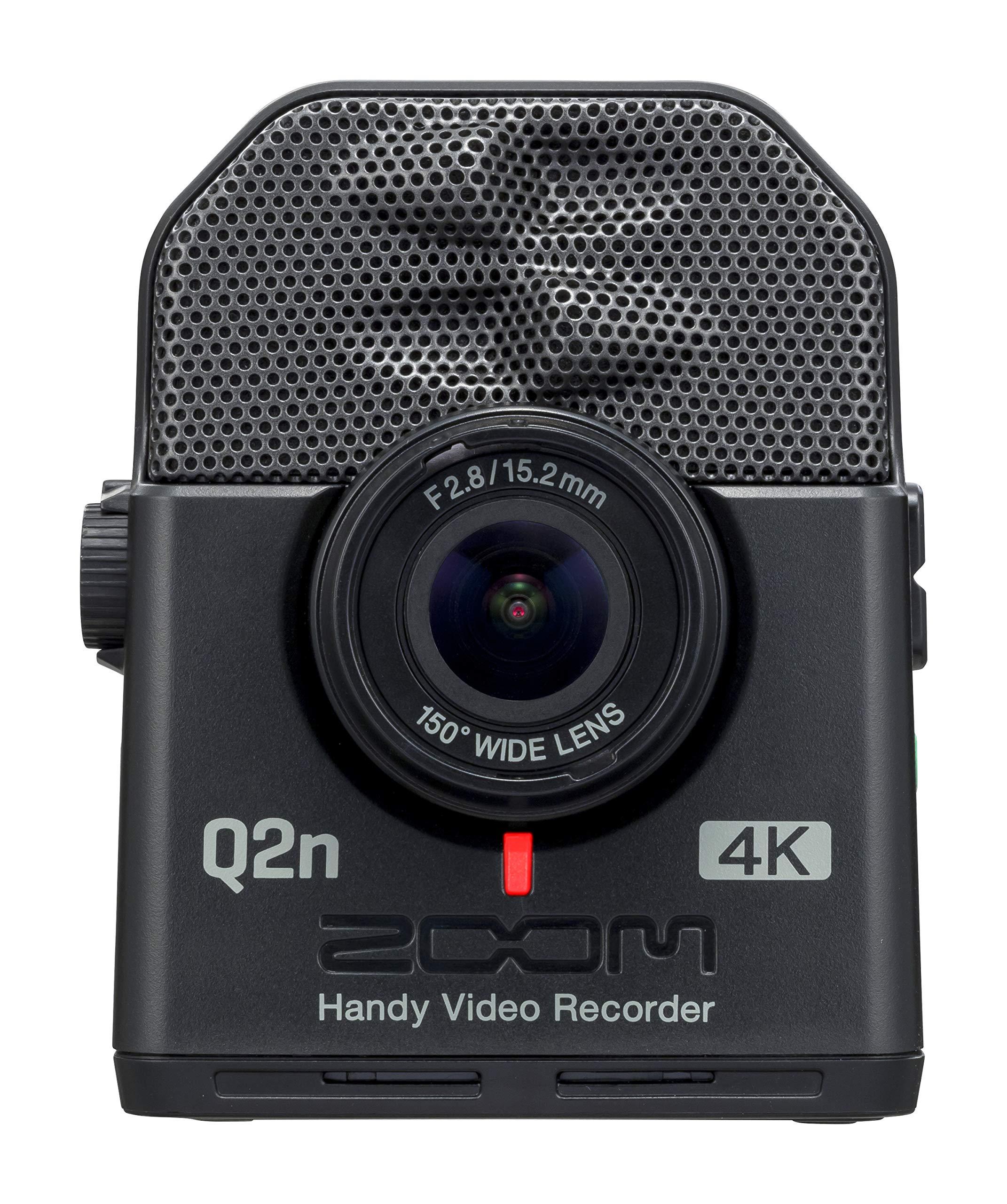 ZOOM Handy Video Recorder Q2n Black Built-In XY Mic New in Box