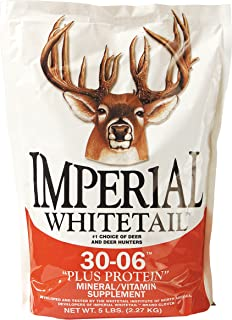 "Whitetail Institute 30-06 Mineral/Vitamin ""Plus Protein"" Deer Mineral Supplement"