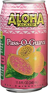 Itoen Aloha Maid Pass-O-Guava Nectar, 11.50 Fluid Ounce (Pack of 24)
