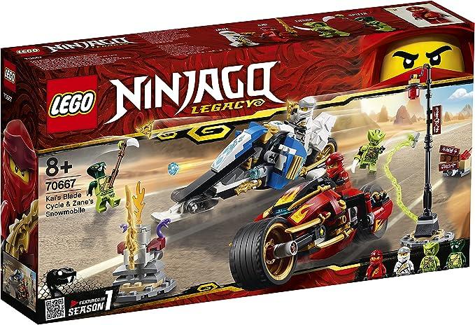 2546 opinioni per LEGO Ninjago- Moto-Lama di Kai e Moto-Neve di Zane, 70667
