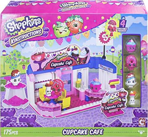 Shopkins kinstructions Szene Pack Cupcake Cafe Building Set