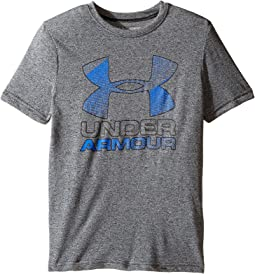 Under Armour Kids Big Logo Hybrid 2.0 Short Sleeve Tee (Big Kids)