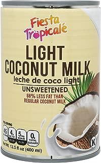 Best light unsweetened coconut milk Reviews