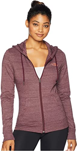 Lightweight Tri-Blend Full Zip Hoodie