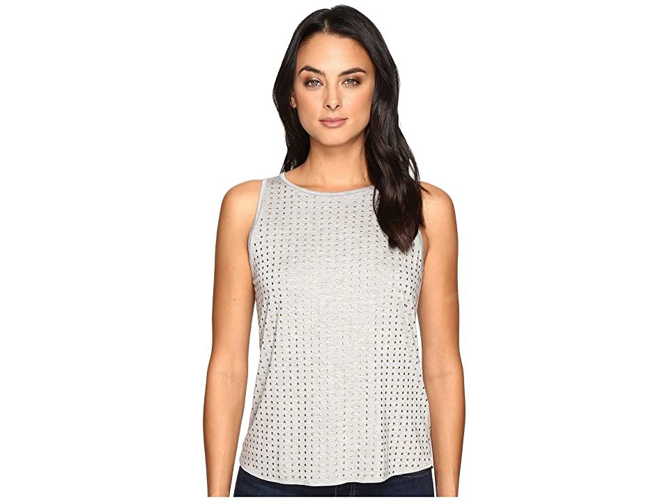 Three Dots Studded Tank Top (Granite) Women