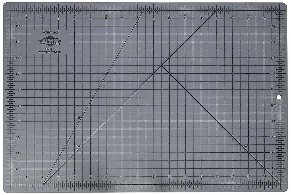 Alvin HM1218 Blue/Gray Self-Healing Hobby Mat, 12 X 18