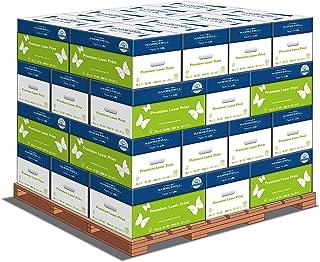 Hammermill Paper, Premium Laser Print Paper, 8.5 x 11 Paper, Letter Size, 28lb Paper, 98 Bright, 1 Pallet / 32 Cartons (125534C)