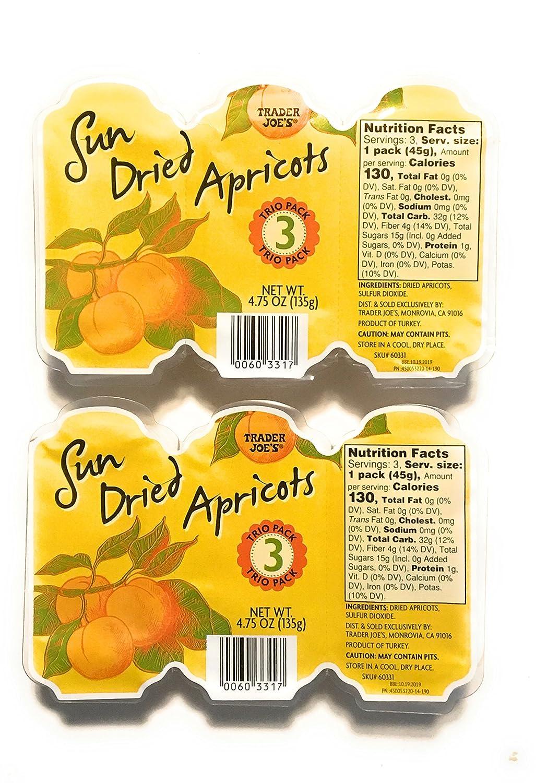 Trader Joe's Sun dried 2 Latest item Ranking TOP9 Apricots pack