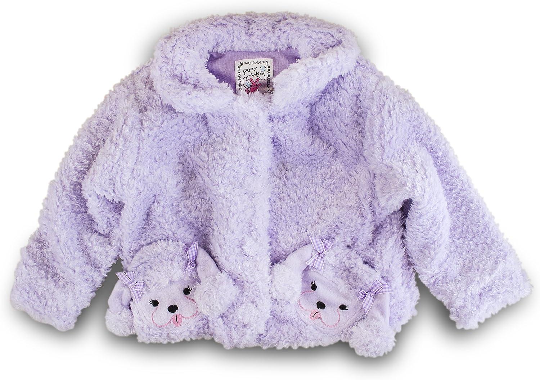 Fuzzy Wear Purple Poodle Jacket 12-18mo.