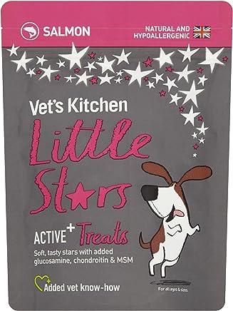 Vet's Kitchen Little Stars Salmon Active+ Dog Treats, 85g