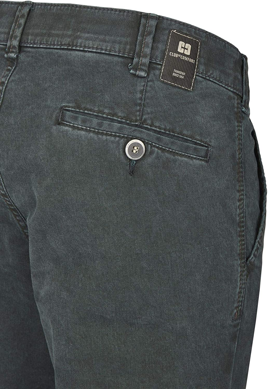Michaelax-Fashion-Trade Club of Comfort Pantalon chino pour homme Garvey (6421) Vert Foncé (68)
