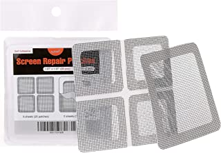 by.RHO Window and Door Screen Repair Patch kit. 25 Patches, (1?