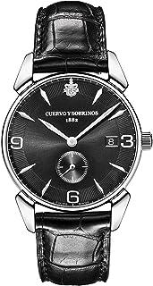 [クエルボ・イ・ソブリノス]Cuervo y Sobrinos 腕時計 紳士用 スモールセコンド 3191-1VNS メンズ 【正規輸入品】