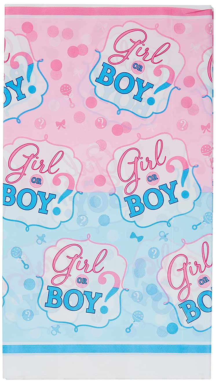 Amscan Girl or Boy? Plastic Tablecover