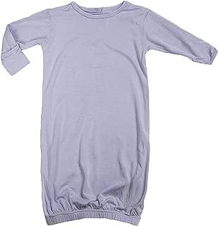 Newborn Layette Gown, Little Girls-Lilac, Preemie