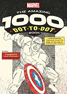 Marvel: The Amazing 1000 Dot-to-Dot Book (Numbers will be small)