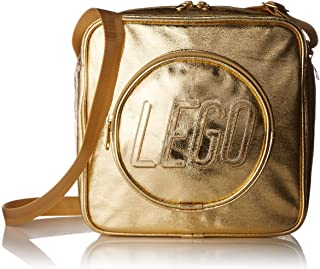 LEGO Unisex-Kinder Brick Handbag-Gold Crossbody-Umhngetasche