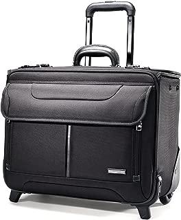 Luggage Wheeled Catalog Case, Black