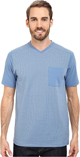 Short Sleeve Alpine Start V-Neck Tee