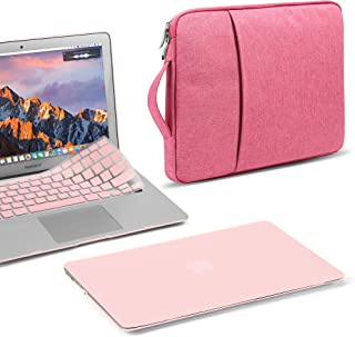 GMYLE MacBook Air 13 Inch Case A1466 A1369 Old Version 2010 2017, 13 13.3 Inch Handle Carrying Sleeve Bag and Keyboard Cov...
