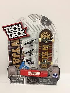 Tech Deck Element Series 6 Nyjah Huston Fingerboard Toy Skateboard Ultra Rare