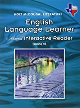 Holt McDougal Literature: English Language Learner Adapted Interactive Reader Grade 10