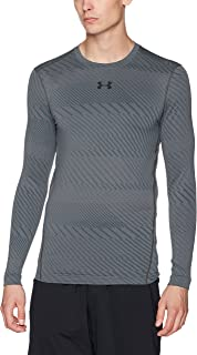 Under Armor Men's ColdGear Armour Jacquard Compression Crew