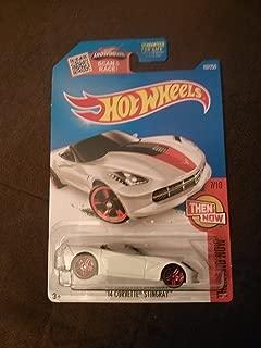 Hot Wheels 2016 Then and Now '14 Corvette Stingray 107/250, White