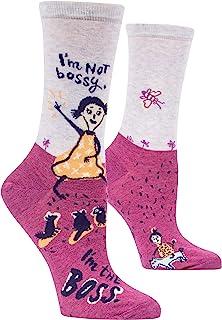 I`m Not Bossy Crew Socks