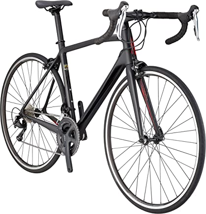 Schwinn Fastback Carbon 700C Performance Road Bike, 57cm/Extra Large Frame, Matte Black