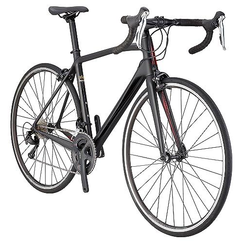 6321f3675c0 Schwinn Fastback Carbon 700C Performance Road Bike, 51cm/Medium Frame,  Matte Black
