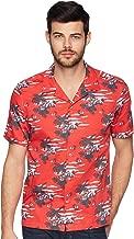 Ted Baker Men's Bliss Short Sleeve Tropical Pattern Shirt