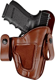 Bianchi 120 Covert Option Russet Size 12 Holster Fits Glock 17/22