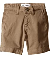 DL1961 Kids Jacob Chino Shorts in Cannon (Toddler/Little Kids/Big Kids)
