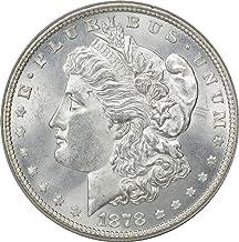 1878-P Morgan Silver Dollar, 8TF, MS63, Uncertified